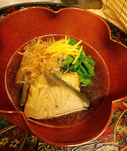 日本海産天然ぶりと大根煮【柚子の香り】