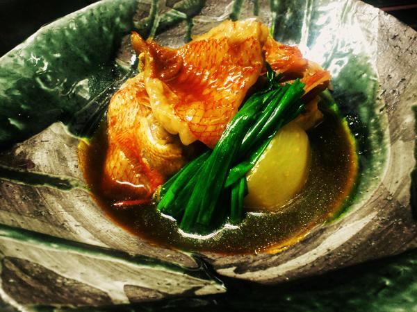 北海道産 キンキの煮つけ