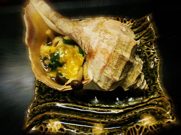北海道産 真つぶ貝のつぼ焼